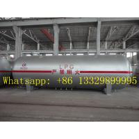 Quality hot sale CLW brand 80 cubic meters liquefied petroleum gas storage tank, best price 80,000L surface lpg gas storage tank for sale