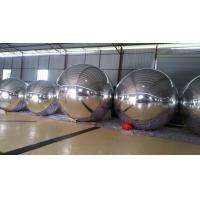 3m Diameter Large Sliver Inflatable Mirror Ball For Opening Event , Parade Manufactures