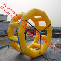 Inflatable Fun Roller, Inflatable Water Roller, Inflatable Wheel Roller water sport games Manufactures