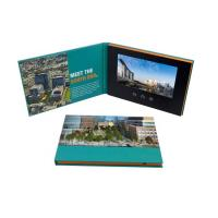 Advertising Promotion Video Brochure Card 7 Inch Lcd Video Book Four Color Printing Manufactures