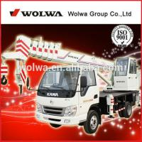 small wheel crane truck GNQY-C8 Manufactures