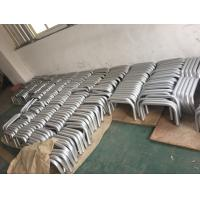 Machining Silver Anodized AA20um Aluminium Round Tube with Holes Manufactures