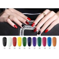 Bright Color Eco - Friendly Paint UV Gel Nail Polish Private Label Custom Size Manufactures