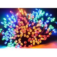 China Waterproof Solar Powered Led Christmas Lights , Solar Powered String Garden Lights on sale