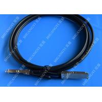 40Gb/S QSFP28 Direct - Attach Copper Serial Attached SCSI Cable For Switch 2 Meter Manufactures