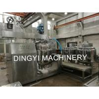Buy cheap Ointment Vacuum Mixer Machine High Shear Emulsifying 500L Capacity CE Certificat from wholesalers