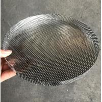 304 Stainless Steel Perforated Filter Mesh Tray Polishing Treatment Manufactures