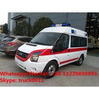 wholesale low price FORD TRANSIT  XINSHIDAI shorter diesel transporting ambulance vehicle for sale,transfer ambulance Manufactures