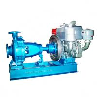 China Diesel engine driving centrifugal irrigation booster supply water pump on sale