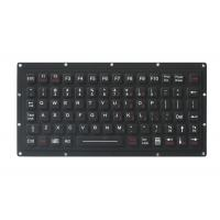 81 Keys Durable IP65 Waterproof Military Mini Silicone Ruber Keyboard For Ruggedized Computer Manufactures