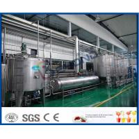 Full Automatic PLC Control Apple Juice Making Plant For Fruit Juice Factory Manufactures