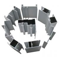 Hollow Single-Glass Aluminum Window Extrusion Profiles With Fluorocarbon Powder Spray Coating Manufactures