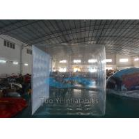 Quality Durable Helium Filling Inflatable Cubes Led Light Balloons For Exhibition for sale