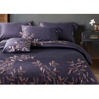 Leaf Pattern Beautiful Bedding Sets 4Pcs , 100 Percent Cotton Bedding Sets Manufactures