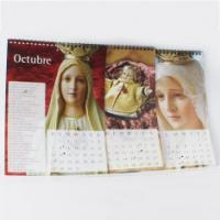2012 charity december Poster Customized Calendar Printing Service with YO