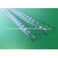 Quality A4 Paper 22mm Clear Binding Combs Plastic Material Bind Up To 450 Sheets for sale