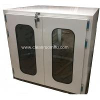 China Floor Mounted Double swing Door Clean Room Pass through Box on sale