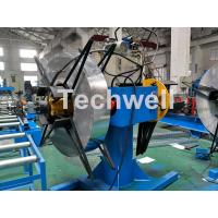 Manual / Hydraulic Double Head Decoiling Machine With 0-15m / Min Uncoiling Speed Manufactures