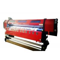 Flex Banner Double Head Large Format Digital Printing Machine 126 Inch Wide Format Manufactures