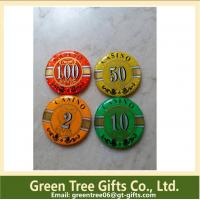Factory supply Cheap price custom metal& clay poker chip for sales Manufactures
