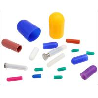 China CustomizE Different Colors Different Hardness Medical Silicone Tube Plug on sale