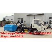 Quality HOT SALE! China Forland 4x2 Roll off Garbage trucks, Factory sale good price Forland 4*2 LHD wastes collecting vehicle for sale