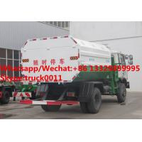 Quality Factory sale cheaper price Dongfeng 4*2 LHD side loader garbage truck, HOT SALE! for sale