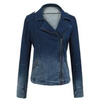 long sleeve ladies tops Warm Womens Jackets outerwear blue jean jacket Manufactures