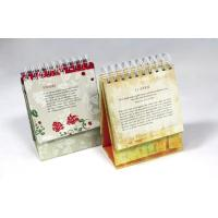 Paperboard Personalized Calendar Printing full Color With Film Lamination Manufactures