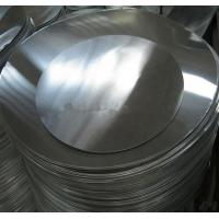 O H12 H14 Aluminum Round Plate , Aluminium Sheet Circle For Deep Drawings Manufactures