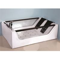 Electronic Control Large Jacuzzi Bathtub , Jacuzzi Air Tub With 8 Hydrotherapy Jets Manufactures