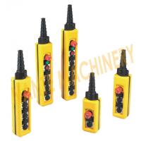 Universal Hoist Pendant Control With Tow Speed Control Buttons , NXAC Series Manufactures