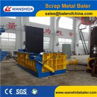 China China Wanshida Waste Metal Baling Press Baler Compactor export to USA on sale