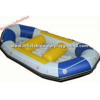 Kids Party Fun Inflatable Raft Boat , White Water River Rafting For Outdoor Activity Manufactures