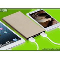 Ultrathin Portable Fast Charging Power Bank 6000mah With Lithium - Ion Polymer Battery Manufactures
