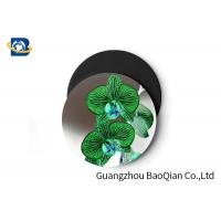 Stunning Flower Personalised Round Coasters , Print Your Own Coasters 3D Lenticular Picture Manufactures