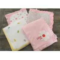 Embroidered Ruffle Baby Sleep Cover , Luxury Cotton Bedding Sets For Baby Cribs Manufactures