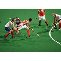 Indoor Outdoor Playground Hockey Fake Plastic Grass , Artificial Sports Turf Manufactures