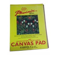 10 Sheets Drawing Sketch Pad Artist Canvas , Acrylic Primed Any Medium Canvas Pad For Drawing Manufactures