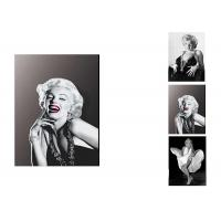 Star Marilyn Monroe 3D Lenticular Flip With 3 Imges Changing Effect / MDF Frame Manufactures