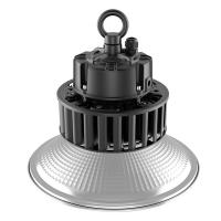 High Lumen Efficiency Led High Bay Light Fixtures Warm White IP65 Good Heat Dissipation Manufactures