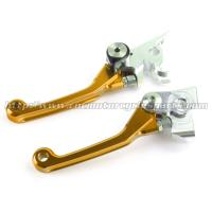 RM RMZ 250 450 Motorcycle Brake Clutch Lever For Suzuki Motorcross Bike Gold Manufactures