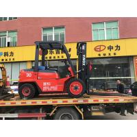 Hydraulic Transmission Diesel Operated Forklift 3000kg Rated Capacity Manufactures