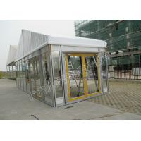 PVC Roof Cover And Glass Wall Tent Classic Luxury Kenya Tent With Party Decorations Manufactures