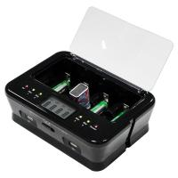 9V Battery Station Alkaline Battery Recharger With Microprocessor Controlled Manufactures