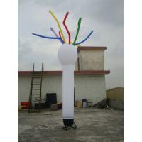 Small White Inflatable Dance Tube Man Party Advertising Products Outdoor Manufactures