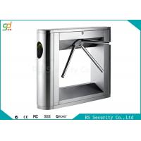 Door Access Waist Height Turnstiles Security  Electric Tripod Turnstiles Manufactures