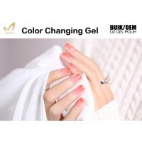 Perfect Match Mood Changing Gel Nail Polish For Salon No Yellowish Manufactures