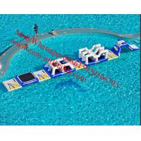 Inflatable Water Floats Kids Games For Aqua Park Manufactures