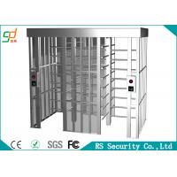 Prison Durable Full Height Turnstiles Made On Domestic Standard Stainless Steel Manufactures